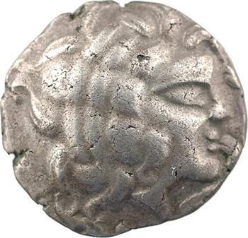Redones, statère de billon au profil imberbe, classe IV, c.100-50 av. J.-C.