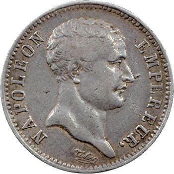 Premier Empire, 1 franc tête de nègre, 1807 Paris