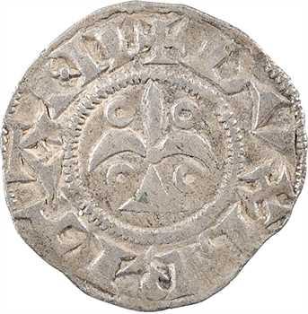 Bretagne (duché de), Geoffroy II Plantagenêt, denier, s.d. Nantes