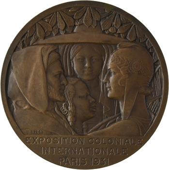 IIIe République, Exposition coloniale de Paris, par Bazor, 1931 Paris