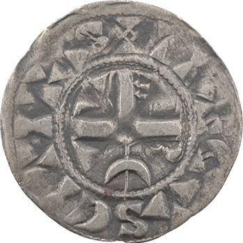 Troyes (comté de), Henri I ou II, denier, s.d. Troyes