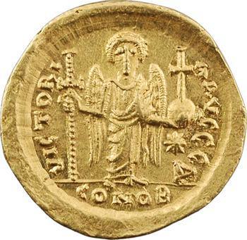 Justin Ier, solidus, Constantinople, 1re officine, 518-527