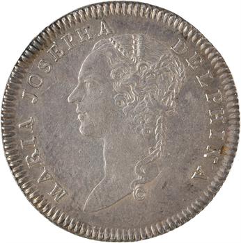 Dauphiné, Marie-Josèphe de Saxe, dauphine, 1751