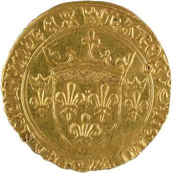 Charles VII, écu d'or à la couronne 3e type, 6e émission, Toulouse