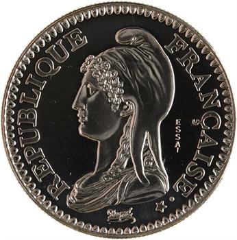 Ve République, essai de 1 franc Marianne de Dupré, 1992 Pessac