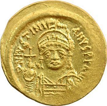 Justinien Ier, solidus, Constantinople, 527-565
