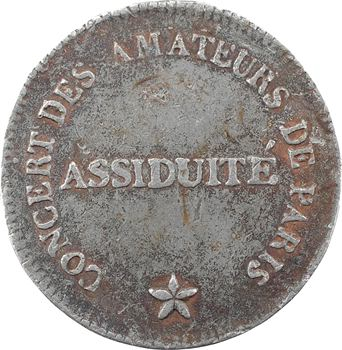 Société le Concert des amateurs, s.d. (1802) Paris