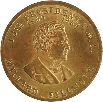 États-Unis, Millard Fillmore, 13e président des États-Unis, 1850-1853