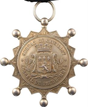 Louis-Philippe Ier, conseil de prud'hommes de Lyon, plaque de conseiller, s.d. (c.1830)