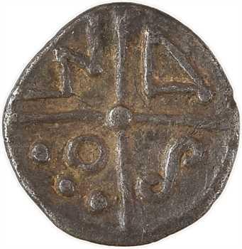 Séquanes (ou Allobroges), obole MSAO, imitée de Marseille, Ier s. av. J.-C.