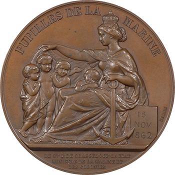 Second Empire, Pupilles de la Marine, par Barre, 1862 Paris