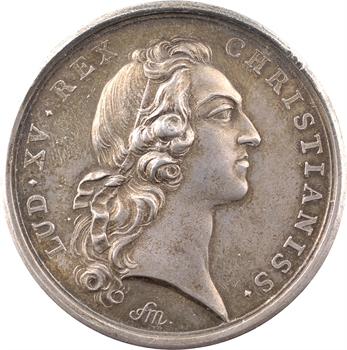 Louis XV, la prise d'Ypres, par Marteau, 1744 Paris