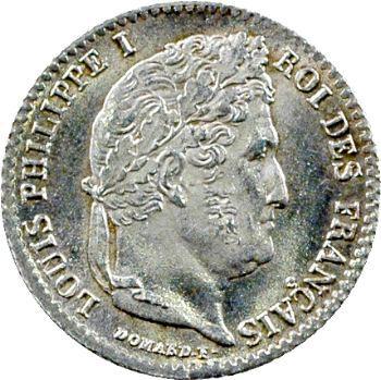 Louis-Philippe Ier, 1/4 franc, 1831 Rouen