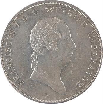 Italie, Lombardie-Vénétie, François-Joseph Ier, scudo, 1824 Venise