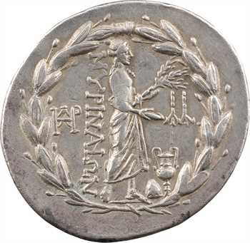 Éolide, Myrhina, tétradrachme, c.150-140 av. J.-C
