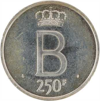 Belgique, Baudouin Ier, module de 250 francs pour le Jubilé, 1976