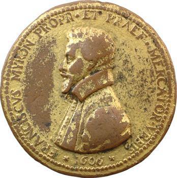 Paris (ville de), François Miron, prévôt des marchands par G. P. Paulus, 1606