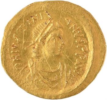 Justinien Ier, semissis, Constantinople, 527-565