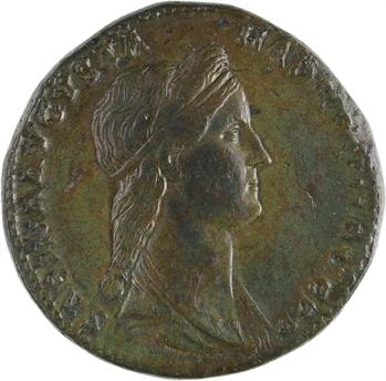 Sabine, sesterce, Rome, 136