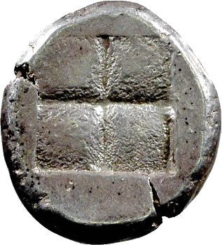 Ionie, Téos, statère, 480-394 av. J.-C.