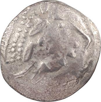 Celtes du Danube, imitation de Philippe II, tétradrachme au type de Kinnlos, Ier s. av. J.-C