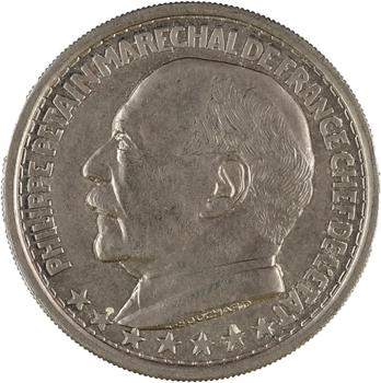 État français, essai de 20 francs par Bouchard en nickel, 1941 Paris