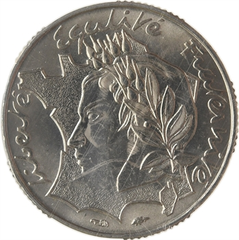 Ve République, essai de 10 francs Jimenez, 1986 Pessac