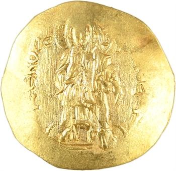 Alexis III, hyperpyron (scyphate), Constantinople, 1195-1203