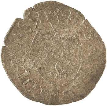 Henri III, liard du Dauphiné à l'écu, 1583 Grenoble
