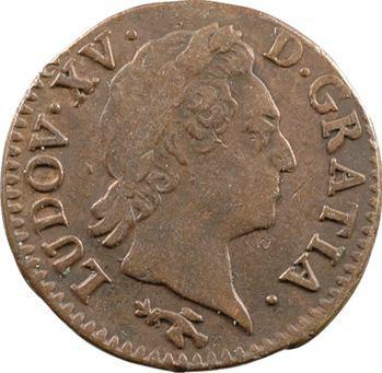 Louis XV, demi-sol à la vieille tête, 1770 Besançon