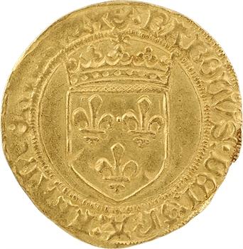 Charles VIII, écu d'or au soleil, 2e émission, Bordeaux
