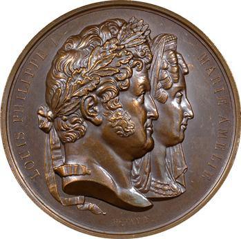 Louis-Philippe Ier, mort de la princesse Marie d'Orléans, duchesse de Würtemberg, 1839 Paris