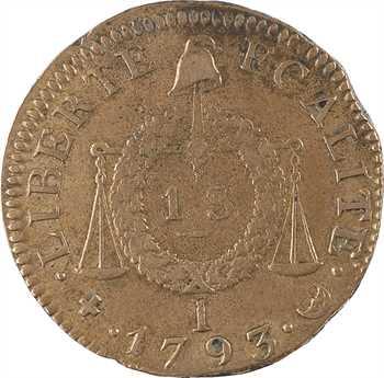 Convention, sol aux balances, 1793 Limoges