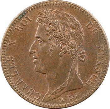 Charles X, 10 centimes pour les colonies, 1829 Paris