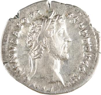 Antonin le Pieux et Marc Aurèle César, denier, Rome, 140