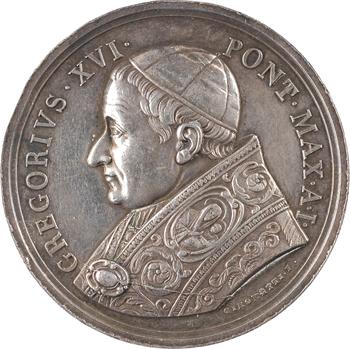 Vatican, Grégoire XVI, élection au pontificat, par Girometti, An I (1831) Rome