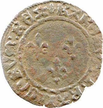 Charles VII, double tournois 2e type, 3e émission, Tours