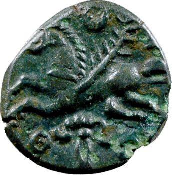 Véliocasses, bronze SVTICCOS à la tête casquée, c.60-40 av. J.-C.