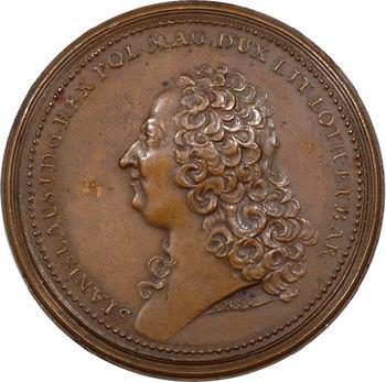Lorraine (duché de), Stanislas Leszczyński (1737-1766), par M.-A. de St-Urbain, 1755 Nancy