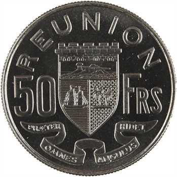Réunion, essai de 50 francs, 1962 Paris