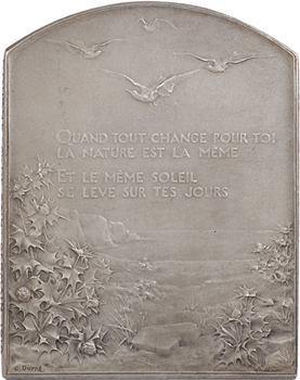 Algérie, le Salut au soleil par G. Dupré, Commission des valeurs de douane (M. de Saint-Germain), 1910 Paris
