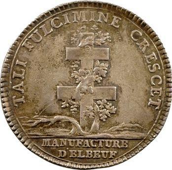 Normandie, Manufacture d'Elbeuf, Louis XV, s.d