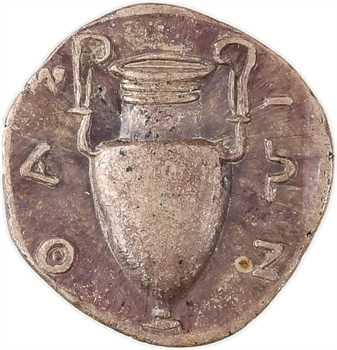 Thrace, Thasos, trihémiobole, c.400-360 av. J.-C