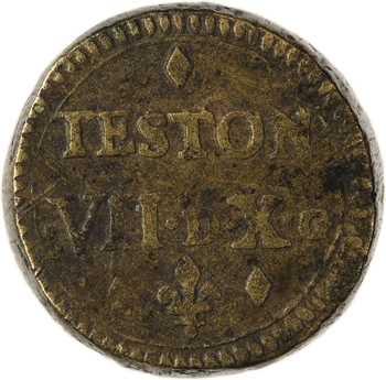 Louis XII, poids monétaire du teston, (1498-1515)