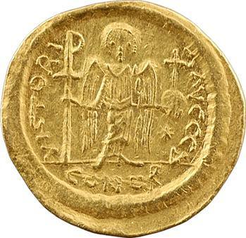 Justinien Ier, solidus, Constantinople, 3e officine ?, 527-565