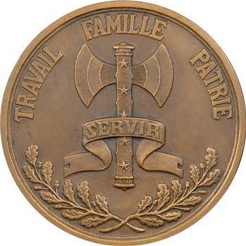 État français, le Maréchal Pétain par F. Angeli, s.d. Paris
