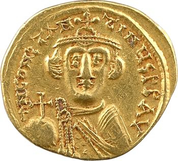 Constant II, solidus, Constantinople, 6e officine, 648-649