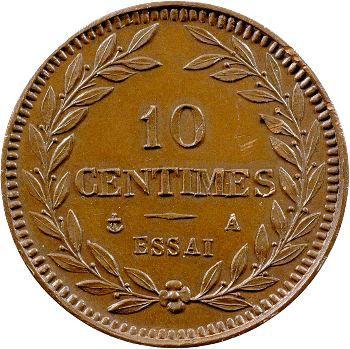 Charles X, essai de 10 centimes, s.d. Paris