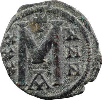 Léon V et Constantin, follis, Constantinople, s.d. (813-820)
