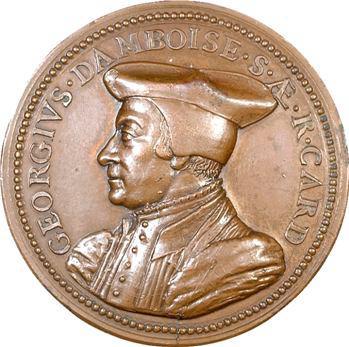 Georges d'Amboise, gouverneur de Milan, 1500 (refrappe XIXe s.)